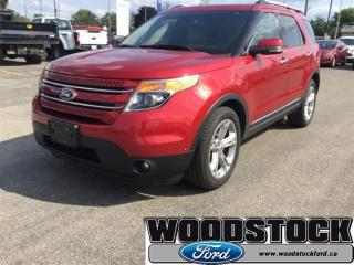Used 2011 Ford Explorer Limited - Leather Seats -  Bluetooth for sale in Woodstock, ON