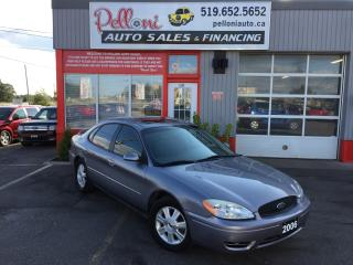 Used 2006 Ford Taurus SEL|SUNROOF|LOW KMS! for sale in London, ON