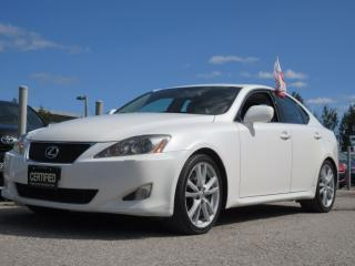 Used 2007 Lexus IS 350 SPORT / ACCIDENT FREE / LEXUS SERVICE HISTORY for sale in Newmarket, ON