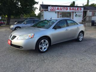 Used 2008 Pontiac G6 SE/Automatic/AUX/Certified for sale in Scarborough, ON