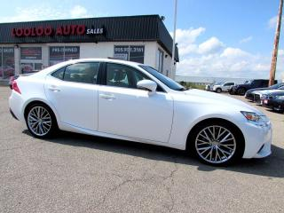 Used 2014 Lexus IS 250 AWD ULTRA PREMIUM CAMERA CERTIFIED for sale in Milton, ON
