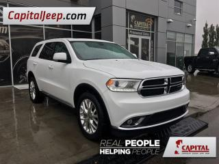 Used 2016 Dodge Durango Limited| Leather| Low KM| DVD Headrest| Sunroof| A for sale in Edmonton, AB