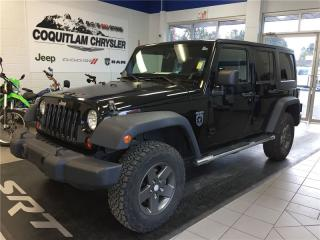 Used 2011 Jeep Wrangler Unlimited Rubicon for sale in Coquitlam, BC