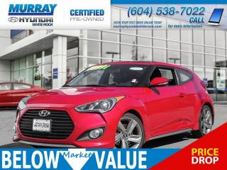 Used 2013 Hyundai Veloster Turbo** BLUETOOTH**NAV** for sale in Surrey, BC