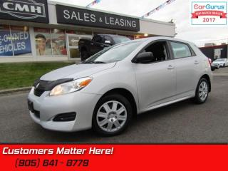 Used 2013 Toyota Matrix POWER-GROUP, AUTO, KEYLESS, CRUISE for sale in St Catharines, ON