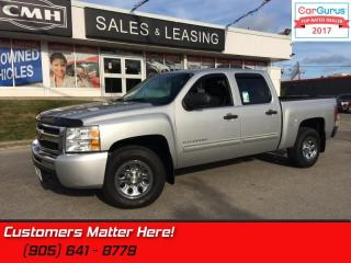 Used 2011 Chevrolet Silverado 1500 LT  CREW CAB, 4X4, POWER-GROUP, REMOTE for sale in St Catharines, ON