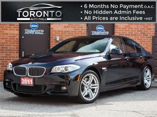 Used 2011 BMW 535 I i xDrive+M Sport+Navigatio+Camers+NO accident for sale in North York, ON