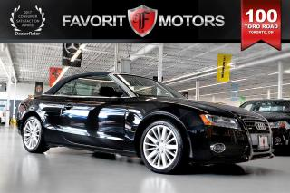 Used 2010 Audi A5 2.0T QUATTRO CONVERTIBLE | NAV | BACK-UP CAM for sale in North York, ON