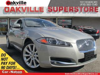 Used 2013 Jaguar XF 3.0L | LEATHER | SUNROOF | NAVI | MASSAGE SEATS for sale in Oakville, ON