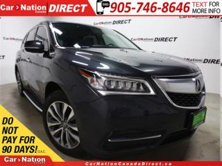Used 2014 Acura MDX | AWD| SUNROOF| BACK UP CAMERA| LEATHER| for sale in Burlington, ON