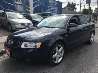 Used 2004 Audi A4 3.0L for sale in Scarborough, ON