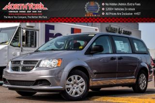 New 2017 Dodge Grand Caravan New Car CVP|7-Seater|A/C|KeylessEntry|TouringSusp.|Trac.Ctrl| for sale in Thornhill, ON