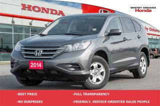Used 2014 Honda CR-V LX (AT) for sale in Whitby, ON