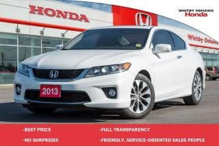 Used 2013 Honda Accord EX-L NAVI for sale in Whitby, ON