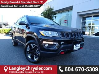 Used 2017 Jeep Compass Trailhawk *ACCIDENT FREE*ONE OWNER*LOCAL BC CAR* for sale in Surrey, BC
