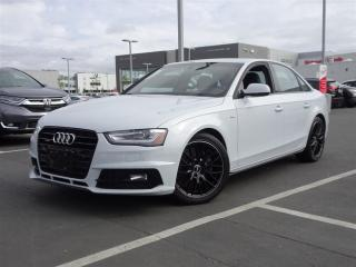 Used 2016 Audi A4 2.0T quattro Technik Plus! Balance Of Factory Warr for sale in Richmond, BC