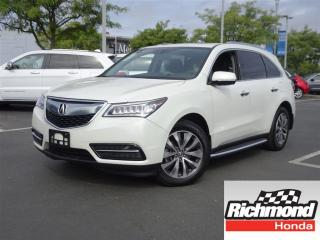 Used 2016 Acura MDX Navigation! Balance Of Factory Warranty! for sale in Richmond, BC
