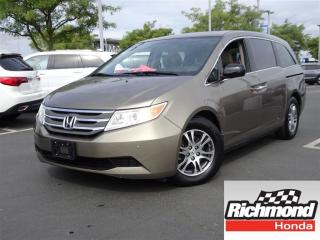 Used 2013 Honda Odyssey EX-L w/ RES for sale in Richmond, BC