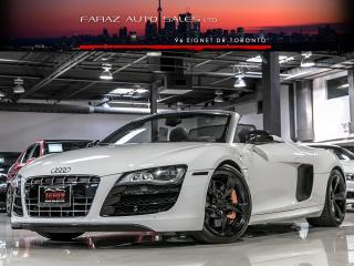 Used 2011 Audi R8 V10|6SPEED|5.2L|CONVERTIBLE|LOADED for sale in North York, ON