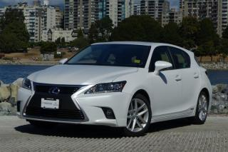 Used 2014 Lexus CT 200h CVT *TECH PACKAGE - LOW KM!* for sale in Vancouver, BC