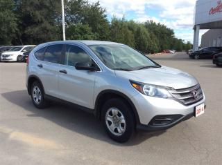 Used 2014 Honda CR-V LX One Owner Clean CarProof for sale in Milton, ON