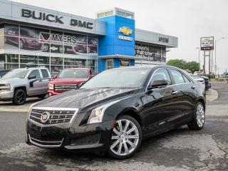 Used 2014 Cadillac ATS 1SF, LUXURY PKG, AWD, TURBO for sale in Ottawa, ON