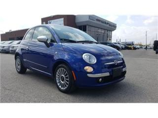 Used 2012 Fiat 500 Lounge LEATHER, SUNROOF for sale in Concord, ON
