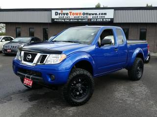 Used 2013 Nissan Frontier KING CAB 4X4 SV **LIFTED** for sale in Gloucester, ON