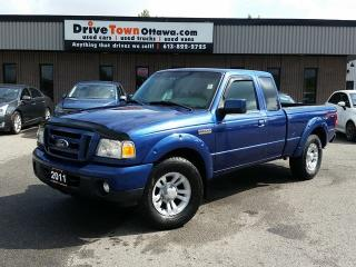 Used 2011 Ford Ranger Super Cab 4x4 SPORT for sale in Gloucester, ON