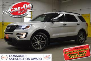 Used 2016 Ford Explorer Sport 7 PASS AWD LEATHER SUNROOF NAV REMOTE START for sale in Ottawa, ON