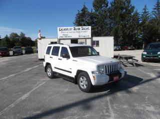 Used 2010 Jeep Liberty TRAIL RATED SPORT 4X4 for sale in Elmvale, ON