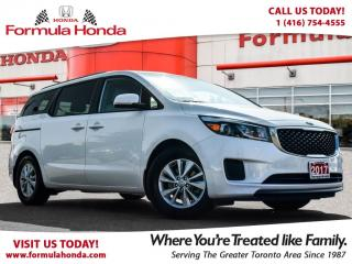 Used 2017 Kia Sedona LX | HEATED SEATS | BLUETOOTH for sale in Scarborough, ON