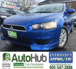 Used 2011 Mitsubishi Lancer SE for sale in Hamilton, ON