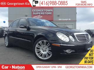 Used 2009 Mercedes-Benz E-Class 79, 490KMS | NAVI | ROOF | ALL WHEEL DRIVE | for sale in Georgetown, ON