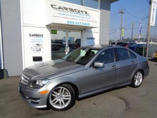 Used 2012 Mercedes-Benz C250 4MATIC, Leather, Sunroof, Extra Clean!! for sale in Langley, BC