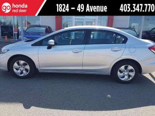 Used 2014 Honda Civic LX for sale in Red Deer, AB