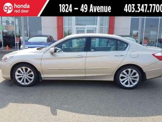 Used 2014 Honda Accord Touring V6 for sale in Red Deer, AB