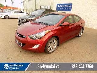 Used 2013 Hyundai Elantra Limited 4dr Sedan for sale in Edmonton, AB