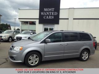 Used 2016 Dodge Grand Caravan Crew Plus | LEATHER | CAMERA | HEATED STEERING for sale in Kitchener, ON