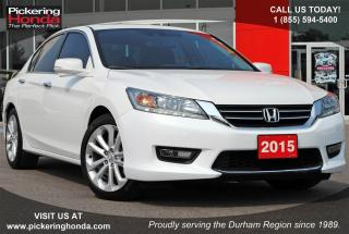 Used 2015 Honda Accord Touring LEATHER NAVI REAR & SIDE CAMERA for sale in Pickering, ON
