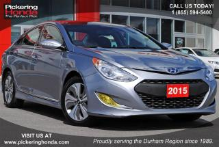 Used 2015 Hyundai Sonata Hybrid LEATHER NAVI SUNROOF for sale in Pickering, ON