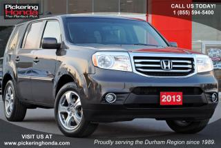 Used 2013 Honda Pilot EX-L DVD LEATHER SUNROOF for sale in Pickering, ON