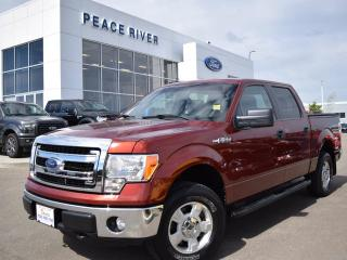 Used 2014 Ford F-150 XLT 4x4 SuperCrew Cab 5.5 ft. box 145 in. WB for sale in Peace River, AB