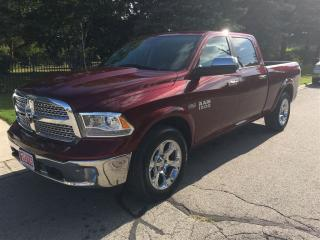 Used 2016 Dodge Ram 1500 Laramie  CREW  4X4  ***SOLD*** for sale in Belmont, ON