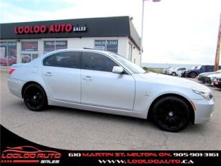 Used 2009 BMW 5 Series 535i xDrive AWD Navigation Certified 2YR Warranty for sale in Milton, ON