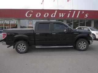 Used 2014 Ford F-150 XLT! CREW! 4X4! LEATHER SEATS! BLUETOOTH! for sale in Aylmer, ON