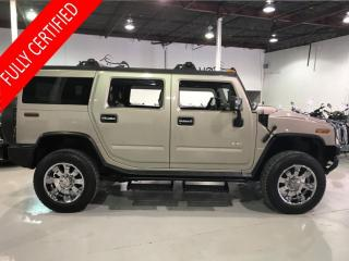 Used 2004 Hummer H2 - for sale in Concord, ON