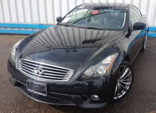 Used 2012 Infiniti G37X  S Coupe AWD *NAVIGATION* for sale in Kitchener, ON