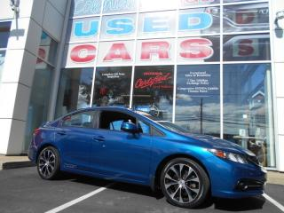 Used 2013 Honda Civic Si HEATED SEATS AND NAV for sale in Halifax, NS