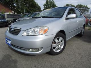 Used 2007 Toyota Corolla LE for sale in St Catharines, ON